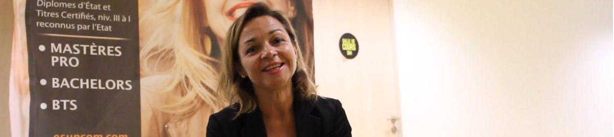 Le parcours Marketing & Communication expliqué par Sandrine