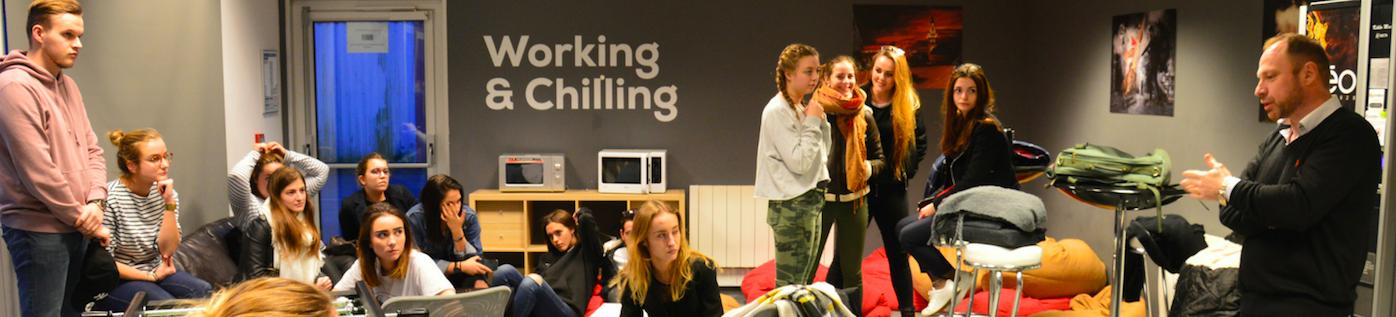 Journées d'immersion à ESUPCOM Lille pour permettre aux futurs étudiants de consolider leur choix d'orientation