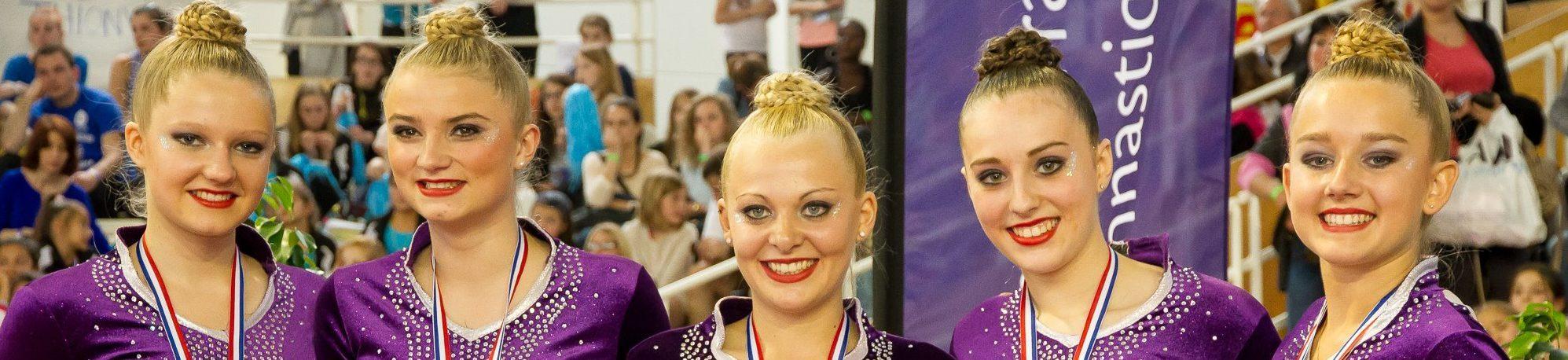 ESUPCOM' Lille soutient ses talents : Philomène CALLET, élève et Vice championne de France en Gymnastique Rythmique !
